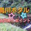 【岡崎市】鳥川ホタルの里の見頃時間とポイント情報