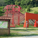 【豊川市】東三河ふるさと公園の憩いの広場・自然の中で遊具で遊べる!(御津側)