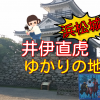【浜松市】浜松城・井伊直虎のゆかりの地めぐり観光におすすめ!出世城