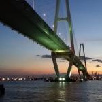 名古屋夜景スポット・名港トリトンの橋はインスタ映えスポット