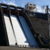 羽布ダムにダムカードとダムカレーを求めて再び!ゲートからの放水はすごい迫力!豊田市