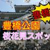 豊橋市の桜花見スポット!2018豊橋公園の見頃と開花状況【吉田城】