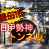 【心霊スポット】旧伊勢神トンネルの現在の様子を紹介!【豊田市】