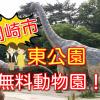 【岡崎市】東公園の動物園は無料で見所いっぱい!カピバラもいるよ!